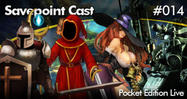 Savepoint Podcast #014 – Pocket AO VIVO! – 15/08/13