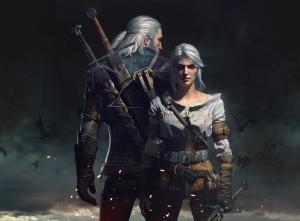 Ciri e Geralt